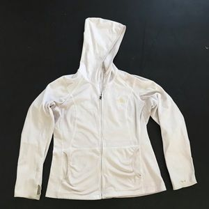 North Face White XL jacket